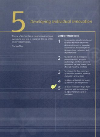 Developing Individual Innovation